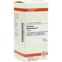 CAUSTICUM HAHNEM D 3, 200 ST, Dhu-Arzneimittel GmbH & Co. KG