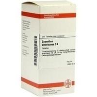 CEANOTHUS AMERICANUS D 4, 200 ST, Dhu-Arzneimittel GmbH & Co. KG