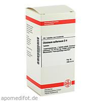 CHININUM SULF D 4, 200 ST, Dhu-Arzneimittel GmbH & Co. KG
