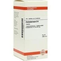 CHOLESTERINUM D 6, 200 ST, Dhu-Arzneimittel GmbH & Co. KG