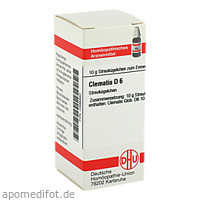 CLEMATIS D 6, 10 G, Dhu-Arzneimittel GmbH & Co. KG