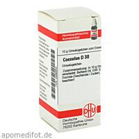 COCCULUS D30, 10 Gramm, Dhu-Arzneimittel GmbH & Co. KG