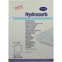 Hydrosorb Wundverband 5x7.5cm, 5 ST, Bios Medical Services GmbH