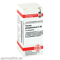 FERRUM PHOS C30, 10 G, Dhu-Arzneimittel GmbH & Co. KG