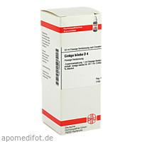 GINKGO BILOBA D 4, 50 ML, Dhu-Arzneimittel GmbH & Co. KG