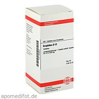 GRAPHITES D12, 200 ST, Dhu-Arzneimittel GmbH & Co. KG