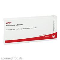 ACONITUM E TUBERE D 4, 10X1 ML, Wala Heilmittel GmbH