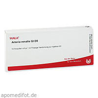 ARTERIA RENALIS GL D 5, 10X1 ML, Wala Heilmittel GmbH