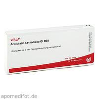 ARTICULATIO SACROIL GL D30, 10X1 ML, Wala Heilmittel GmbH
