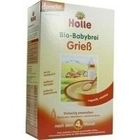 Holle Bio-Babybrei Grieß, 250 G, Holle baby food AG