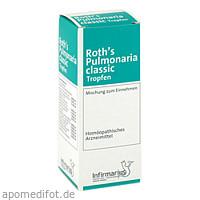 Roth's Pulmonaria classic Tropfen, 50 ML, Infirmarius GmbH