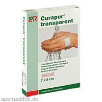 Curapor transparent Wundverband steril 7x5cm, 5 ST, Lohmann & Rauscher GmbH & Co. KG