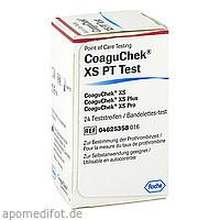 COAGU CHEK XS PT Test, 24 ST, Actipart GmbH