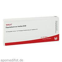 EQUISETUM EX HERBA D30, 10X1 ML, Wala Heilmittel GmbH