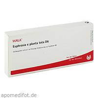 EUPHRASIA E PL TOTA D 6, 10X1 ML, Wala Heilmittel GmbH