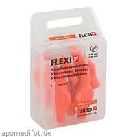 TANDEX FLEXI ID Bürsten Tangerine (Orange) 0.45mm, 6 ST, Tandex GmbH