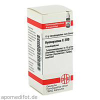 HYOSCYAMUS C200, 10 G, Dhu-Arzneimittel GmbH & Co. KG