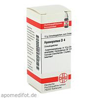 HYOSCYAMUS D 4, 10 G, Dhu-Arzneimittel GmbH & Co. KG