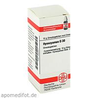 HYOSCYAMUS D30, 10 G, Dhu-Arzneimittel GmbH & Co. KG