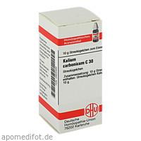 KALIUM CARB C30, 10 G, Dhu-Arzneimittel GmbH & Co. KG
