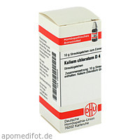 KALIUM CHLORAT D 4, 10 G, Dhu-Arzneimittel GmbH & Co. KG