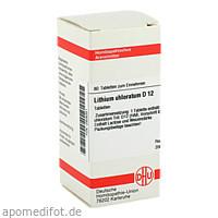 LITHIUM CHLORAT D12, 80 ST, Dhu-Arzneimittel GmbH & Co. KG