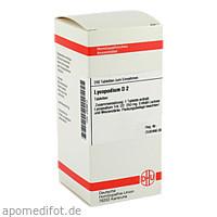 LYCOPODIUM D 2, 200 ST, Dhu-Arzneimittel GmbH & Co. KG