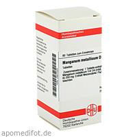 MANGANUM MET D 4, 80 ST, Dhu-Arzneimittel GmbH & Co. KG