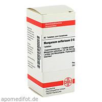 MANGANUM SULF D 6, 80 ST, Dhu-Arzneimittel GmbH & Co. KG
