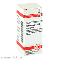 NUX VOMICA C200, 10 G, Dhu-Arzneimittel GmbH & Co. KG