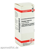 PLANTAGO MAJOR D 4, 20 ML, Dhu-Arzneimittel GmbH & Co. KG