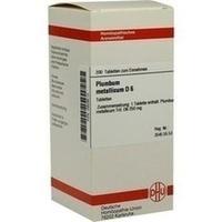 PLUMBUM MET D 6, 200 ST, Dhu-Arzneimittel GmbH & Co. KG