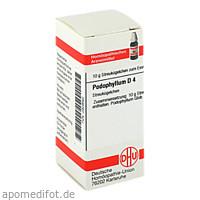 PODOPHYLLUM D 4, 10 G, Dhu-Arzneimittel GmbH & Co. KG