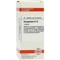 PYROGENIUM D12, 80 ST, Dhu-Arzneimittel GmbH & Co. KG