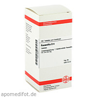 RAUWOLFIA D 4, 200 ST, Dhu-Arzneimittel GmbH & Co. KG
