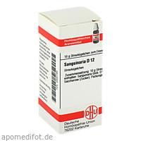 SANGUINARIA D12, 10 Gramm, Dhu-Arzneimittel GmbH & Co. KG