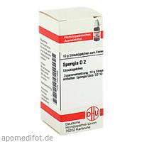 SPONGIA D 2, 10 G, Dhu-Arzneimittel GmbH & Co. KG