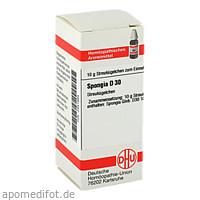 SPONGIA D30, 10 G, Dhu-Arzneimittel GmbH & Co. KG