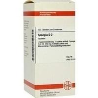 SPONGIA D 2 Tabletten, 200 ST, DHU-Arzneimittel GmbH & Co. KG
