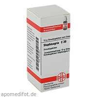 STAPHISAGRIA C30, 10 G, Dhu-Arzneimittel GmbH & Co. KG