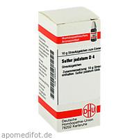 SULFUR JODAT D 4, 10 G, Dhu-Arzneimittel GmbH & Co. KG