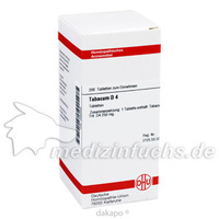 TABACUM D 4 Tabletten, 200 ST, DHU-Arzneimittel GmbH & Co. KG