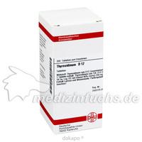 THYREOIDINUM D 12 Tabletten, 200 ST, DHU-Arzneimittel GmbH & Co. KG