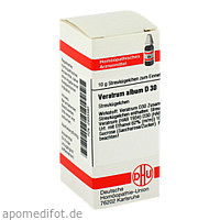VERATRUM ALB D30, 10 G, Dhu-Arzneimittel GmbH & Co. KG