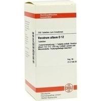 VERATRUM ALBUM D 12 Tabletten, 200 ST, DHU-Arzneimittel GmbH & Co. KG
