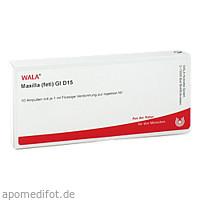 MAXILLA (FETI) GL D15, 10X1 ML, Wala Heilmittel GmbH