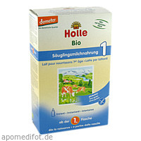 Holle Bio-Säuglingsmilchnahrung 1, 400 G, Holle baby food AG