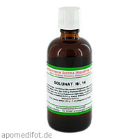 Solunat Nr. 14, 100 ML, Laboratorium Soluna Heilmittel GmbH