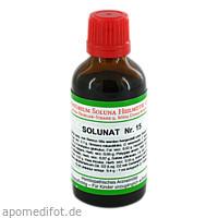 Solunat Nr. 15, 50 ML, Laboratorium Soluna Heilmittel GmbH
