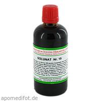 Solunat Nr. 19, 100 ML, Laboratorium Soluna Heilmittel GmbH